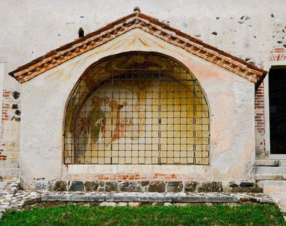 Chiesa di san Biagio - Cappella esterna