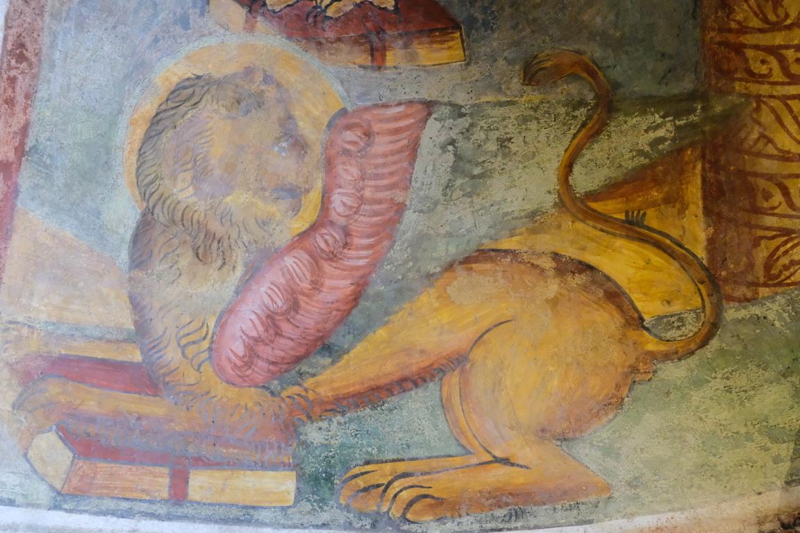 Chiesa di san Biagio - particolare affresco 2