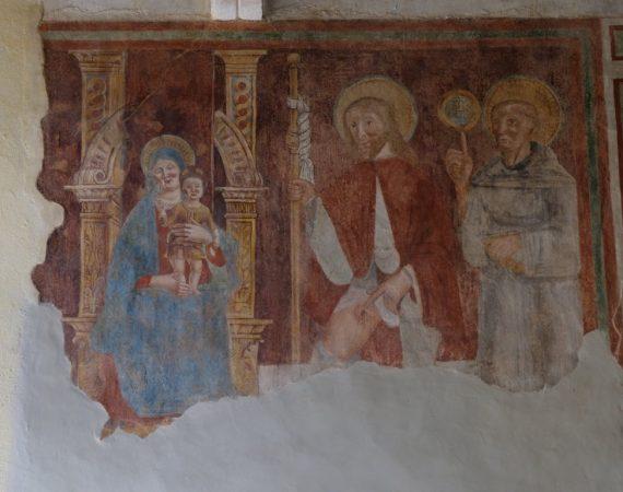 Chiesa di san Biagio - particolare affresco 3