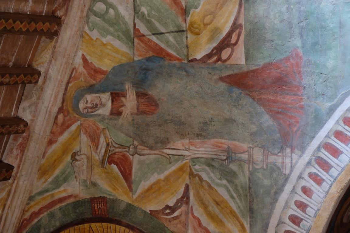 Chiesa di san Biagio - particolare affresco